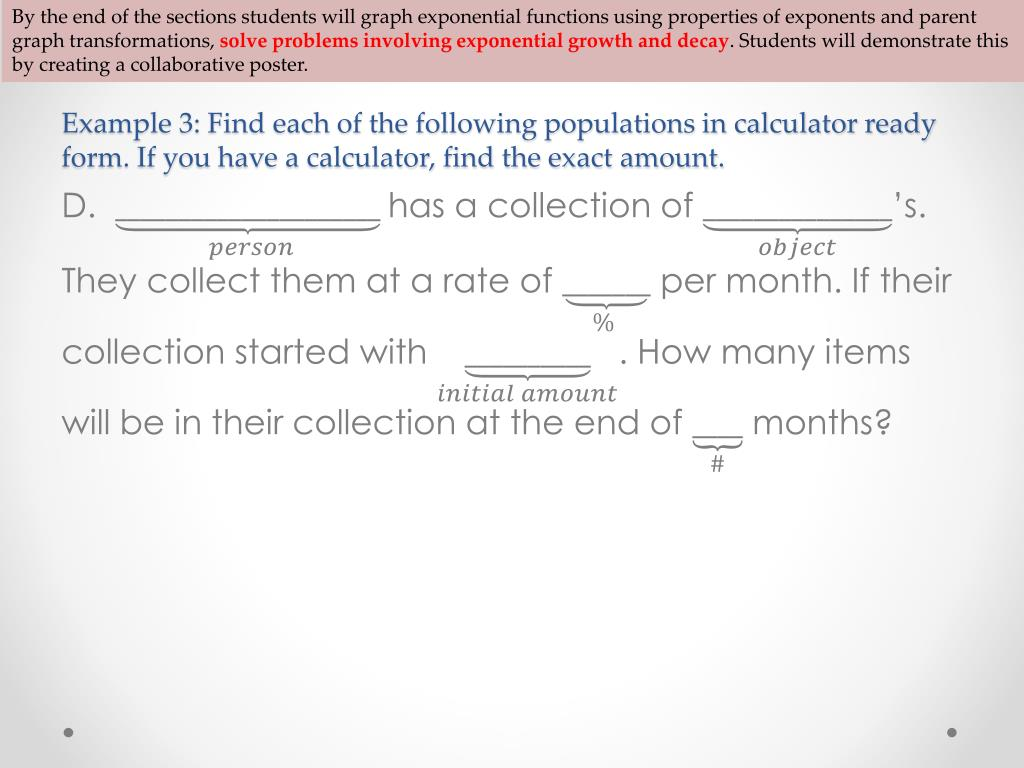 PPT - 11 2 Exponential Functions PowerPoint Presentation