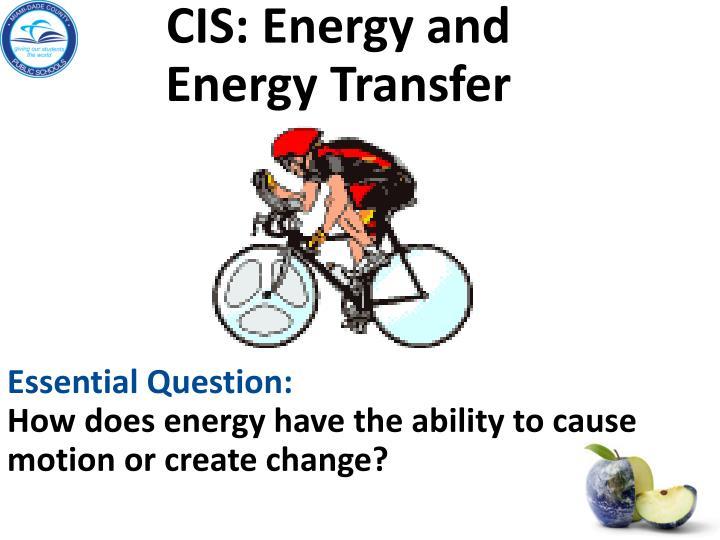 CIS: Energy and