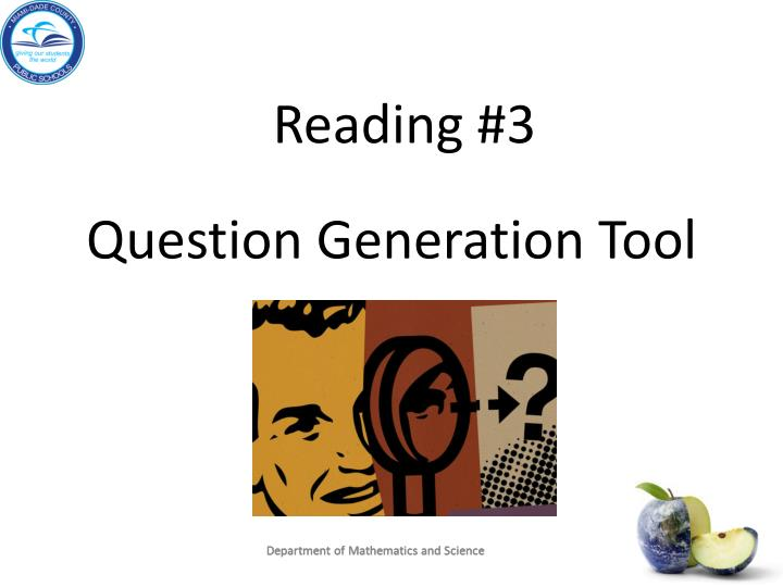 Reading #3