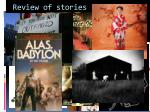 review of stories