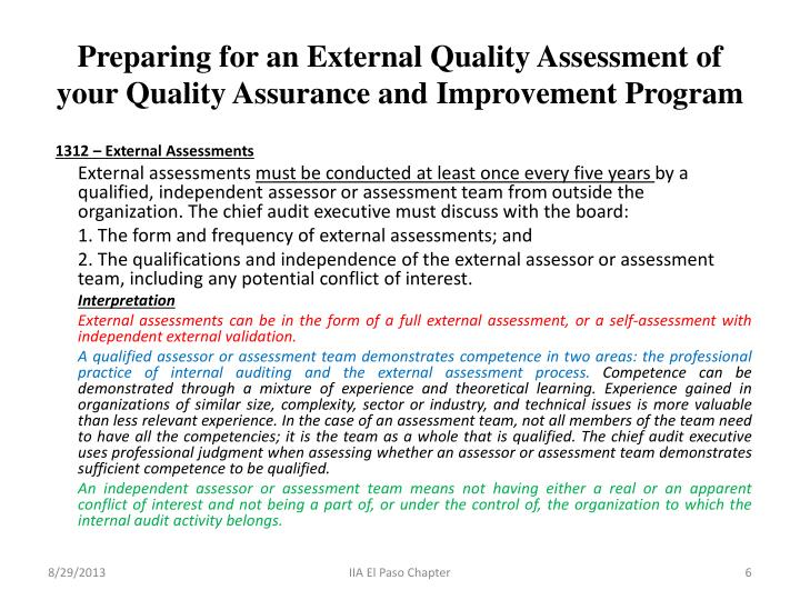 five key ideas about quality assessment Key quality and safety issues seven ways to improve quality and safety in your hospital self assessment tools european foundation for quality management.