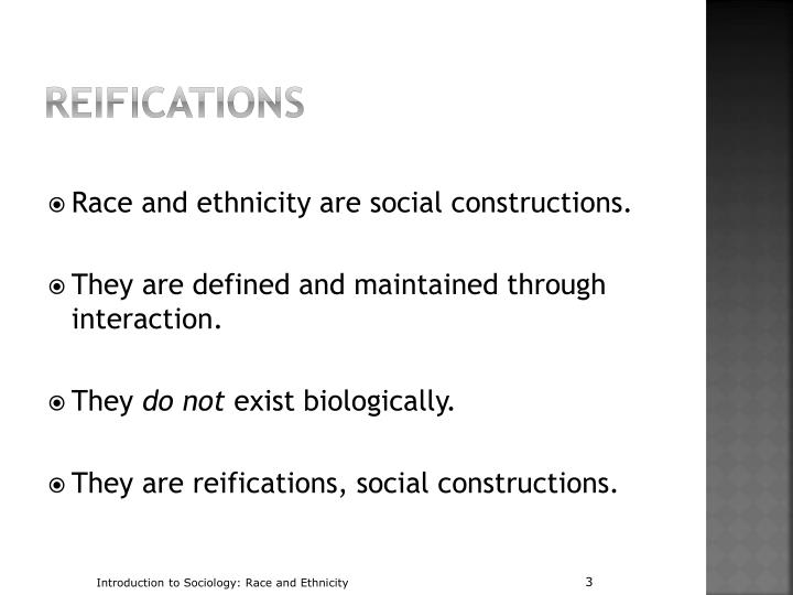racial identity and socially constructed race On race and genetics,  the social science perspective that the socially constructed race is the category that is often much  racial identity as it is.