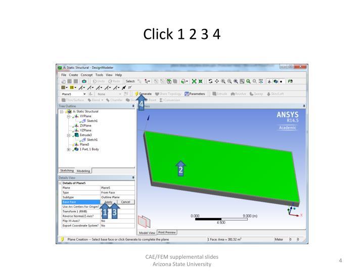 Click 1 2 3 4