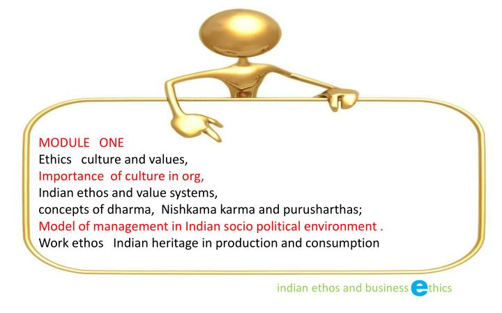 indian culture and ethics