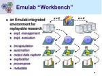 emulab workbench