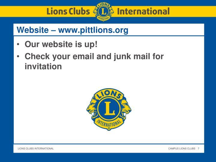 Website –