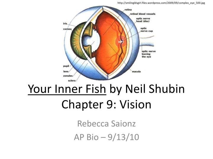 your inner fish While there i picked up some books for the boy and found your inner fish by dr  shubin i started reading it and i must say that shubin is an.