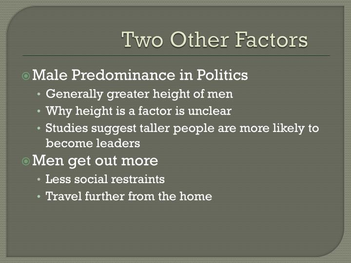 Two Other Factors