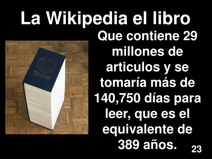 La Wikipedia el