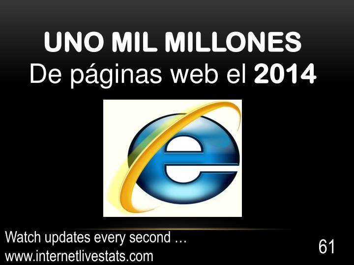 UNO MIL MILLONES