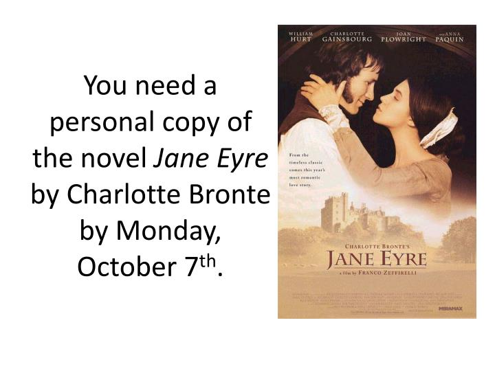 chapter summary and analysis of the novel jane eyre by charlotte bronte Free summary and analysis of volume 1, chapter 7 in charlotte brontë's jane eyre that won't make you snore we promise.