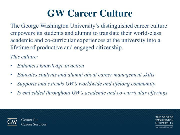 GW Career Culture