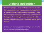 drafting introduction3