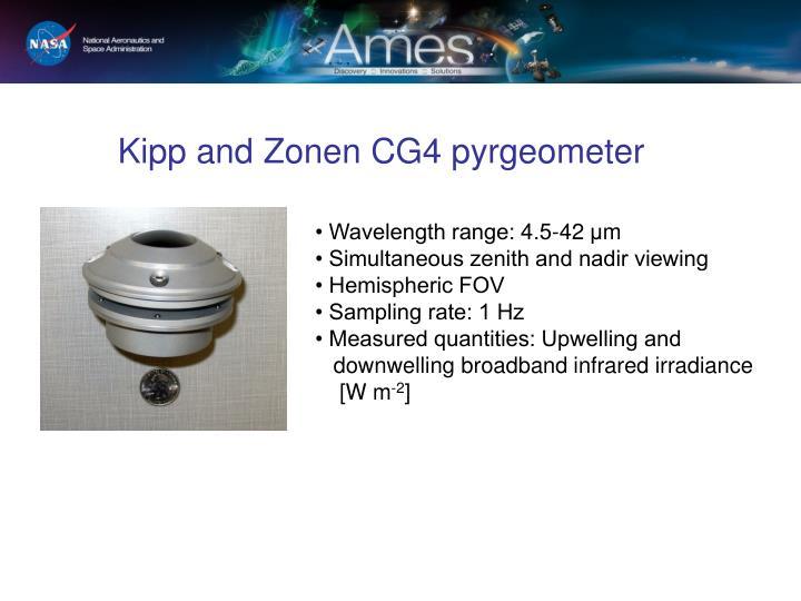 Kipp and zonen cg4 pyrgeometer