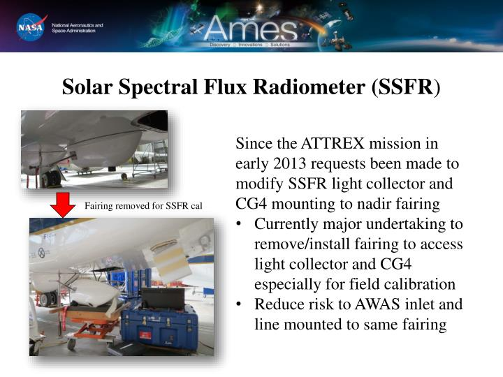 Solar Spectral Flux Radiometer (SSFR