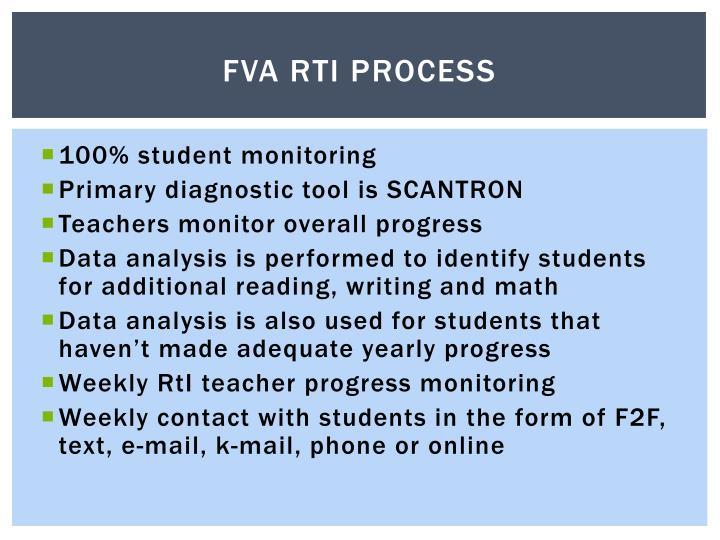 FVA RTI Process