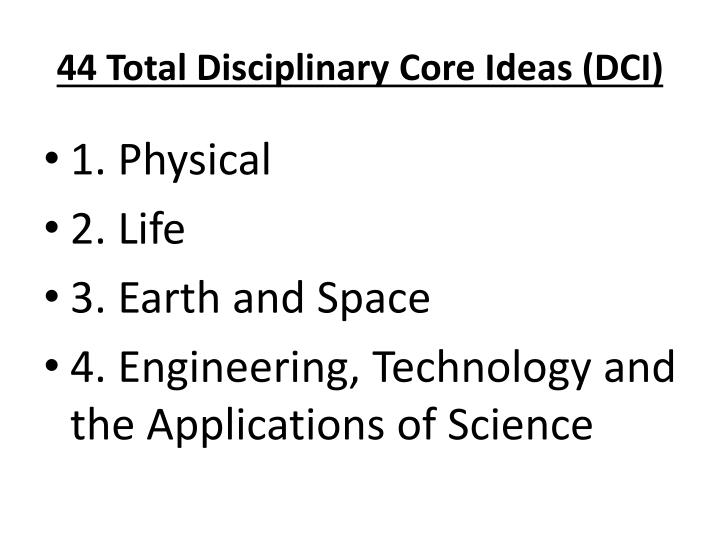 44 Total Disciplinary