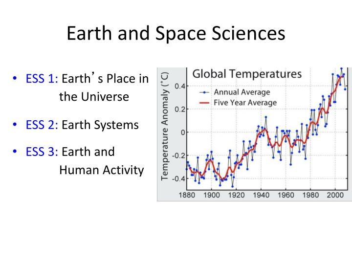 Earth and Space Sciences