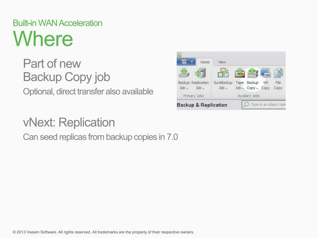 PPT - Veeam Backup & Replication v7 Deep Dive PowerPoint
