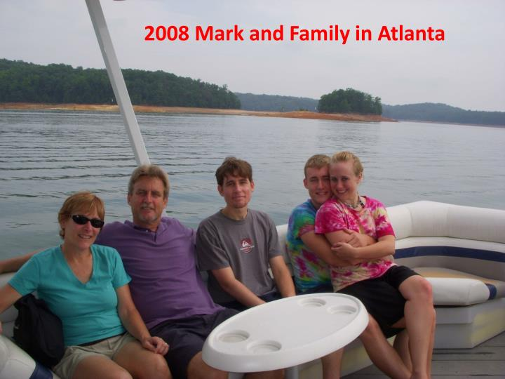 2008 Mark and Family in Atlanta
