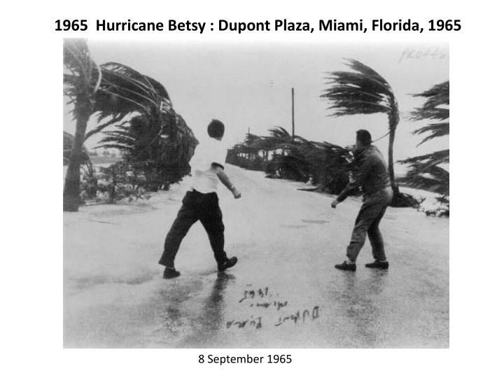 1965  Hurricane