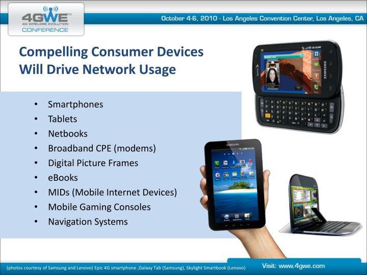 Compelling Consumer Devices