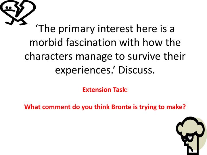 'The primary interest here is a morbid fascination with how the characters manage to survive their...