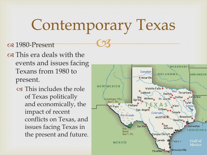 Contemporary Texas