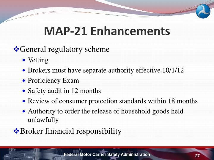 MAP-21 Enhancements