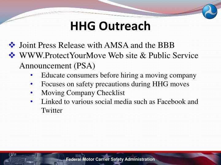 HHG Outreach