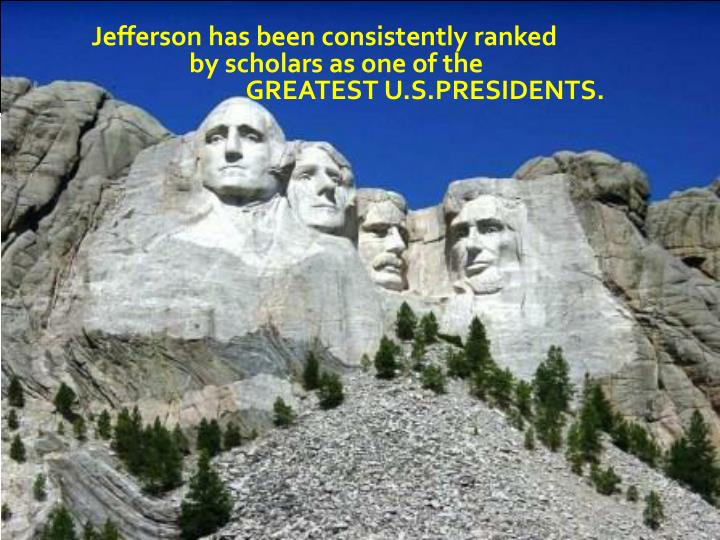 Jefferson has been consistently ranked