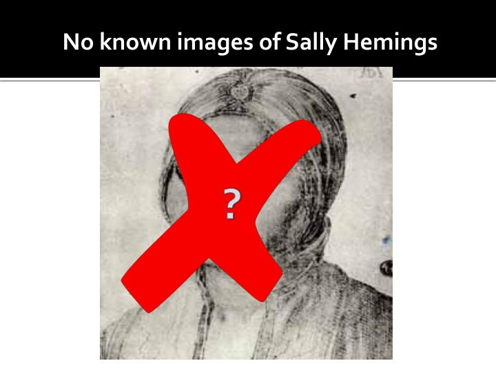 No known images of Sally