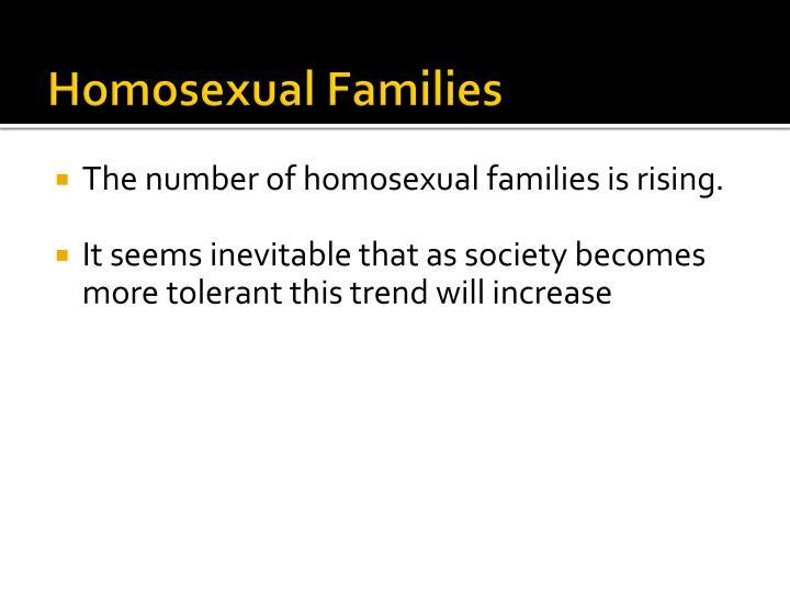 Homosexual Families