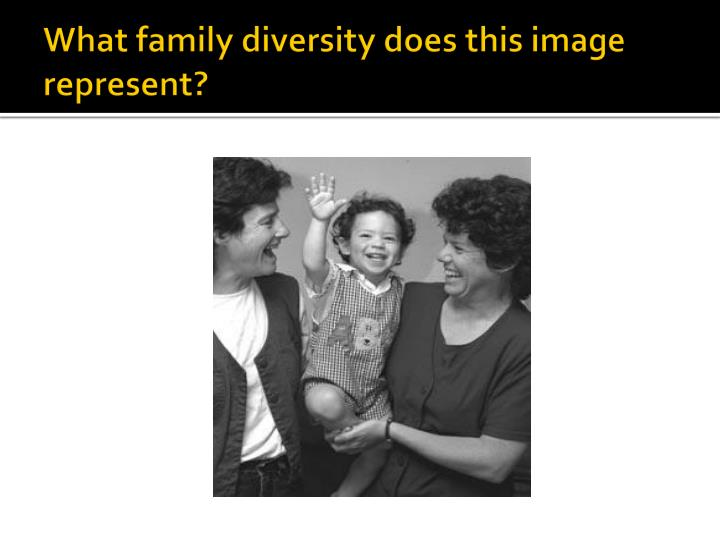 What family diversity does this image represent?