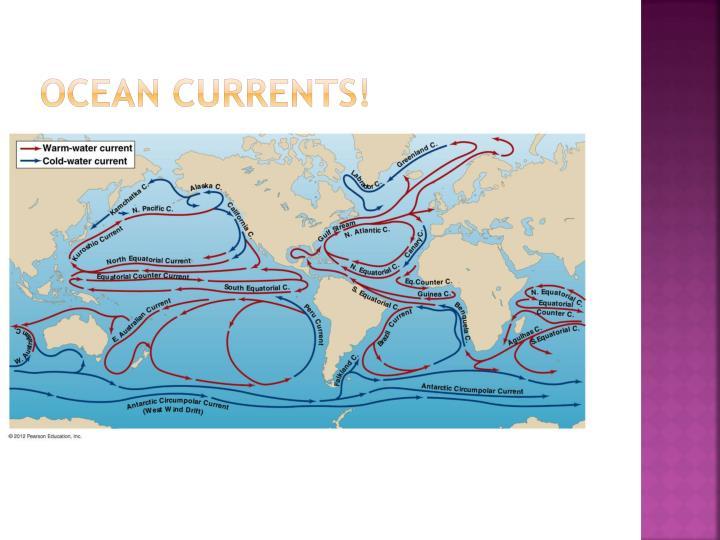 OCEAN CURRENTS!