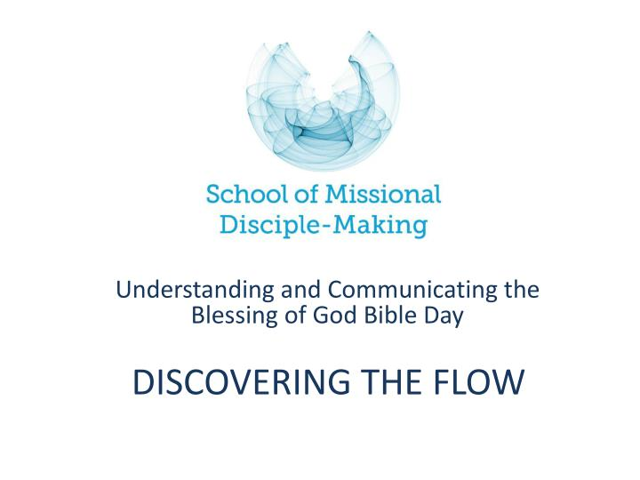 Discovering the flow