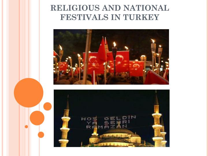 religious and national festivals in turkey n.