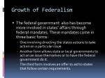growth of federalism1
