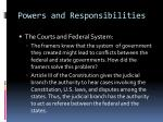 powers and responsibilities7