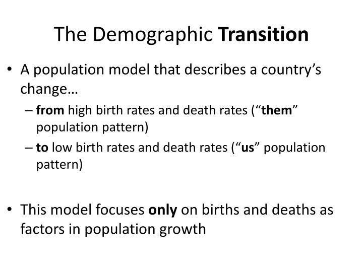 population transition theory