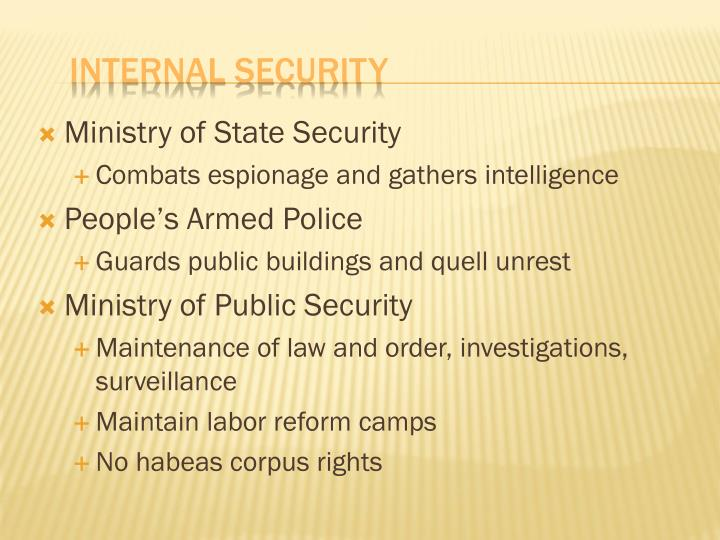 Ministry of State Security