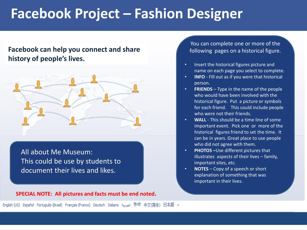 Ppt Facebook Project Fashion Designer Powerpoint Presentation Free Download Id 2798421