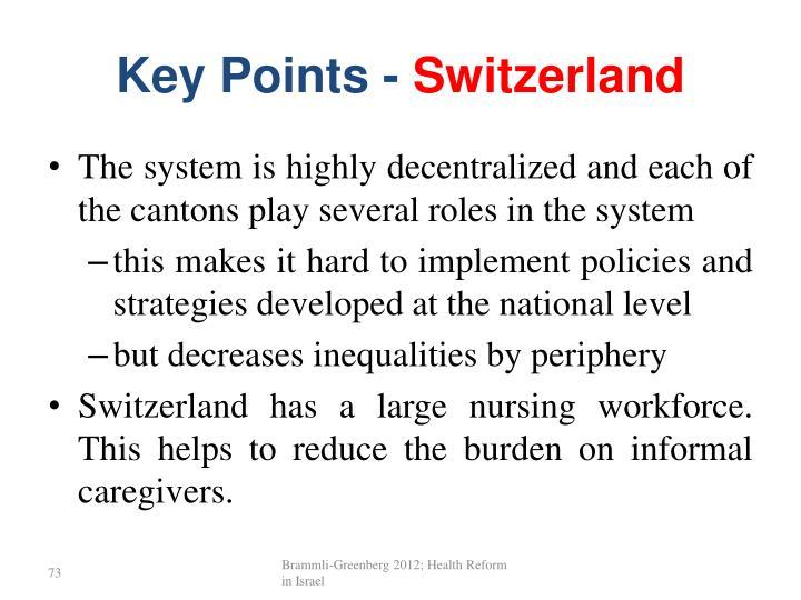 Key Points -
