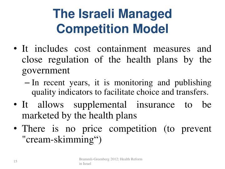 The Israeli Managed