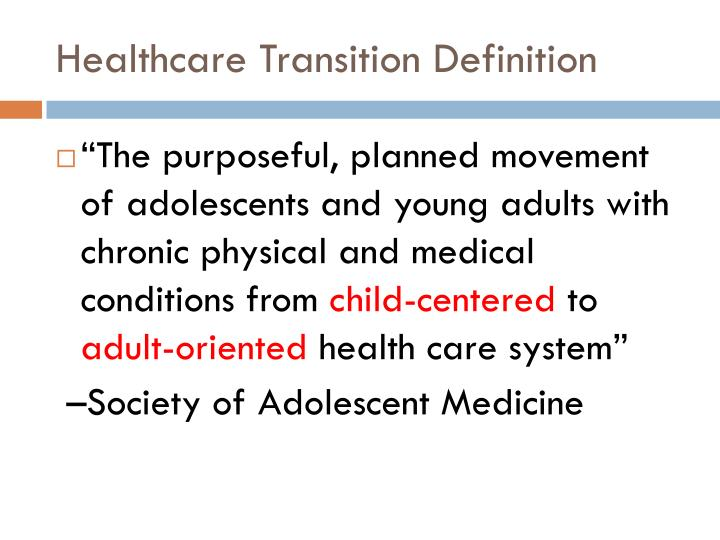 Ppt Transitional Care In The Med Peds Clinic Powerpoint