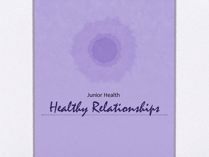 healthy relationships n.