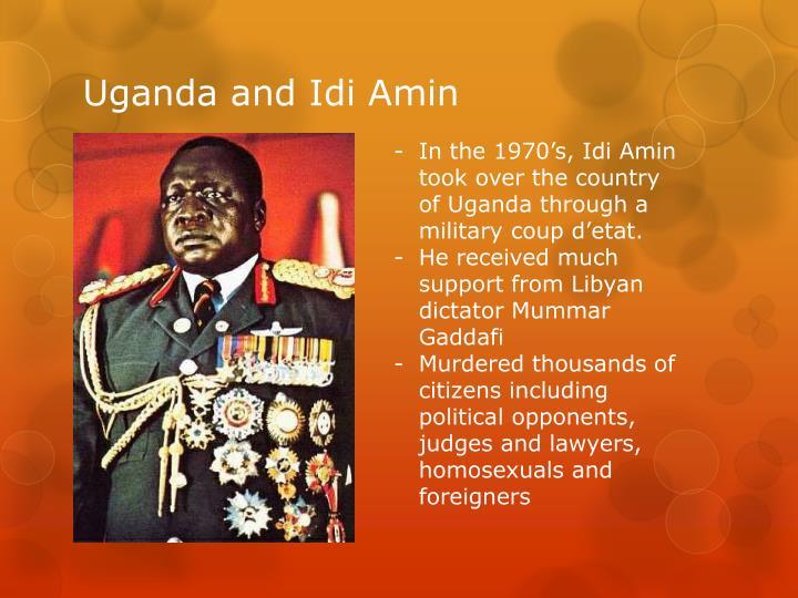 Uganda and idi amin