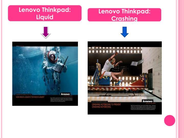 Lenovo Thinkpad: Liquid