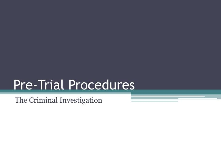 criminal procedure cj 227 01 As regards matters of criminal procedure for which no special provision has been made by this code or by any other law for the time being in force, such procedure as the justice of the case may require, and which is not inconsistent with this code or such other law, may be adopted.
