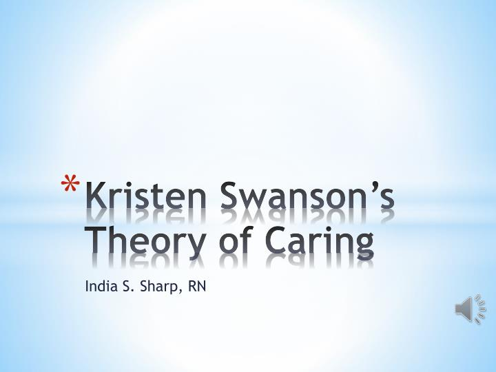 watsons theory of caring The theory of human caring is the creation of dr jean watson watson began developing the theory in 1975 using her own views and beliefs of nursing in conjunction with knowledge gained during her doctoral studies in education-clinical and social psychology.